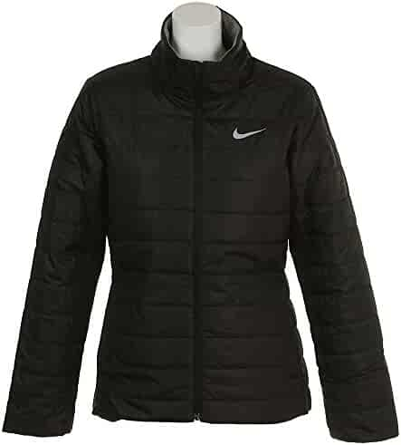 68d30c86b77e Nike Womens Repel Golf Jacket Black Wolf Grey 855639-010