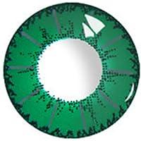 ögon Tillbehör Färglins 0 Graders Grön 14.0mm Kontaktlins