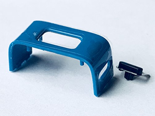 Blue Replacement Charging Clasp Clip and Button for Fitbit Charge HR Activity Tracker - CentralSound