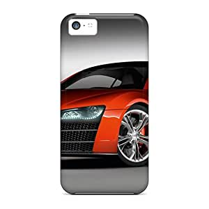 Perfect Fit QHM50502KgHg Audi R8 Tdi Le Mans 4 Cases For Iphone - 5c