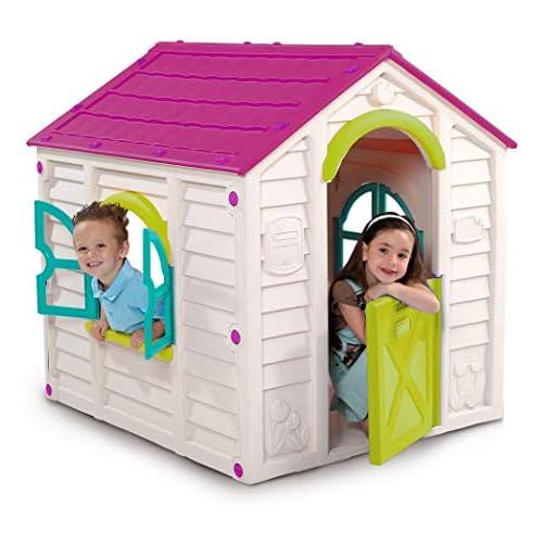 chollos oferta descuentos barato Keter 220140 Rancho Infaltil con tejado color rosa