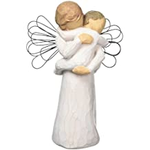 Willow Tree hand-painted sculpted angel, Angel's Embrace