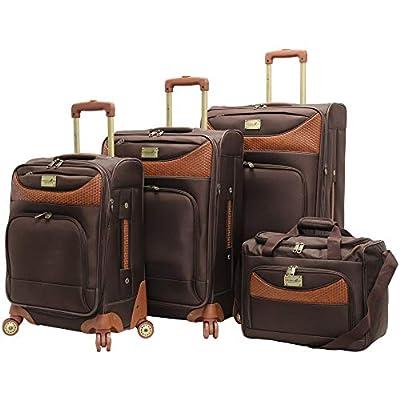 "Caribbean Joe ""Castaway"" 4 Piece Luggage Set"