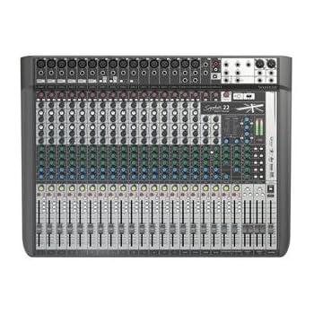 soundcraft signature 22 22 channel mixer musical instruments. Black Bedroom Furniture Sets. Home Design Ideas