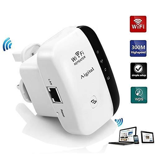 Aigital Mini N300 WiFi Extender Booster Wireless Repeater ...