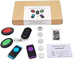 Amazon.com: vodeson kf04 C portátil llavero Key Finder ...