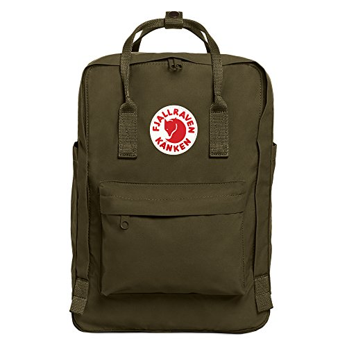 Fjallraven Kanken Laptop Backpack, Warm Yellow, 15-Inch