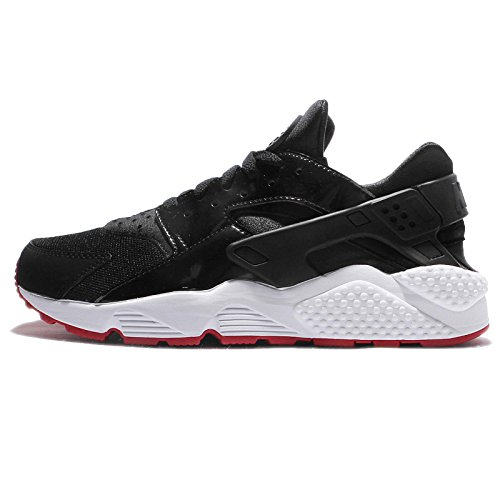 cheaper 60673 2069b ... best price nike air huarache bred men lifestyle casual sneakers new  black gym red delicate 684d1