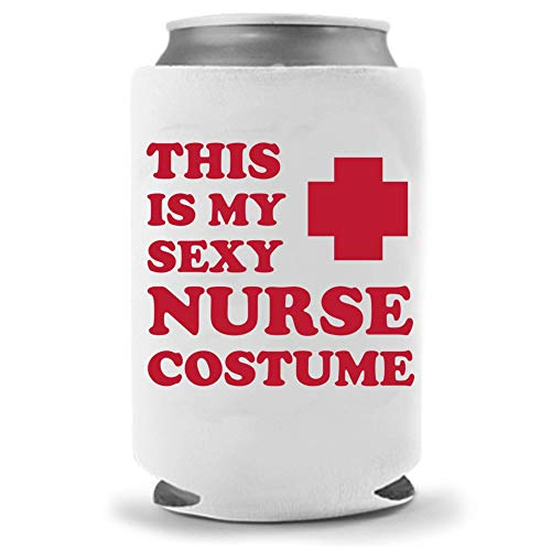 Sexy Nurse - Funny Halloween Costume Collapsible Neoprene