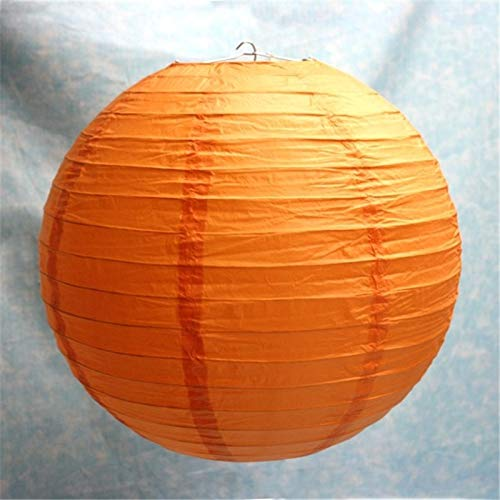 Calvas 22inch (55cm) 50pieces/lot Chinese Giant Round Paper Lantern lamp Weddng/Party/Home 23 Color - (Lantern Size: 22inch)