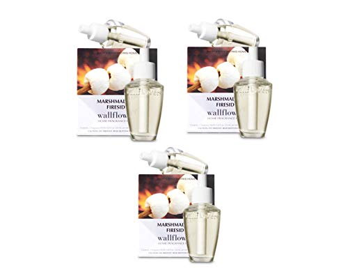 (Bath and Body Works Marshmallow Fireside Wallflower Refills - Set of 6 Refill Bulbs (3 Boxes))