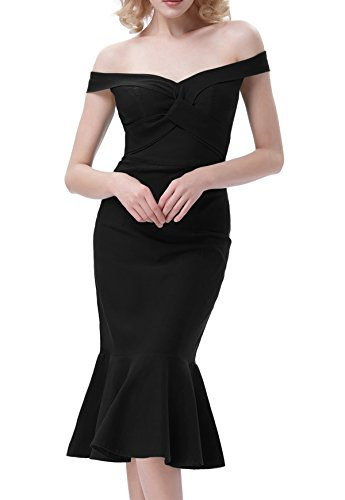 la belle black dress - 8