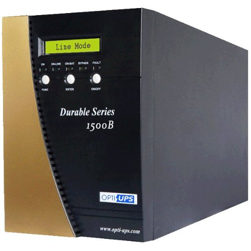 OPTI-UPS DS1500B (1500VA/1050W) Online Double Conversion Sinewave UPS 6 Outlets
