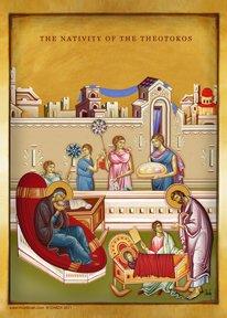(Nativity of Virgin Mary Icon)