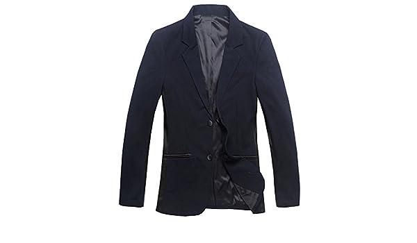 De esquí para hombre jeansian Blazer e instrucciones para hacer vestidos Casual Fashion chaquetas ultrafina tipo libro Trend traje CJS905: Amazon.es: Ropa y ...