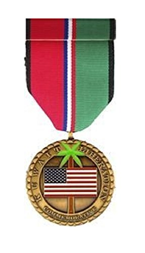 - Gulf War Kuwait Liberation Commemorative Medal