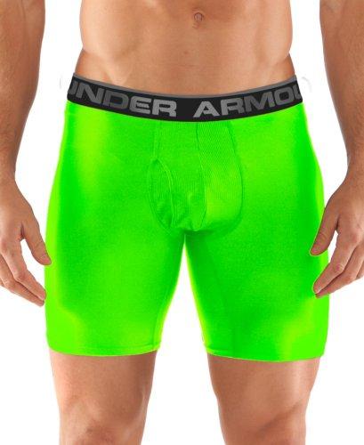 """Under Armour 2014 Original 6\"""" Boxer Jock (Hyper Green)"""