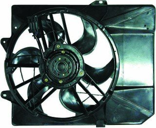 QP F7104-b Ford Escort ZX2 ZX-2 Replacement AC A/C Condenser Radiator Cooling Fan/Shroud (Ford Escort Condenser)