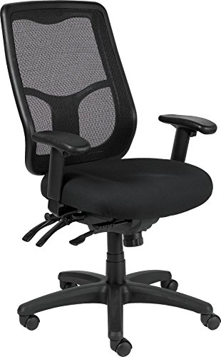 llo MFHB9SL High Multifunction Chair, Black (Eurotech Multifunction Task Chairs)