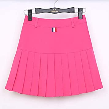 GDNTCJKY Faldas Para Mujer Faldas Plisadas De Cintura Alta Faldas ...
