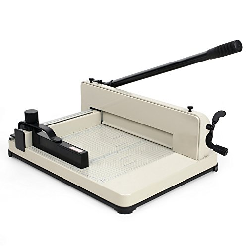Amzdeal Paper Cutter Guillotine Paper Cutter Trimmer Professional Heavy Duty Commercial Paper Cutter A4 Paper Cutting Machine by Amzdeal