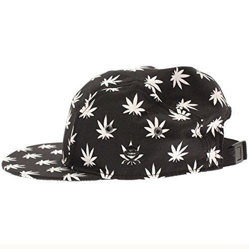 Cayler And Sons - Casquette 5 Panel Homme Budz And Stripes Cap - Black / White