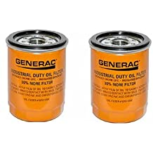 Generac - OIL FILTER 90 LOGO ORNG-CAN - 070185E 90mm High Capacity (30% More Filter) Pack of 2