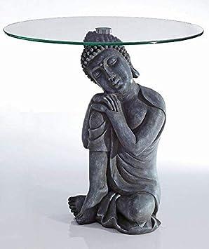 Dans Le Bouddha Antique D'appoint Unbekannt Style Figurine Table nwON80ZkPX