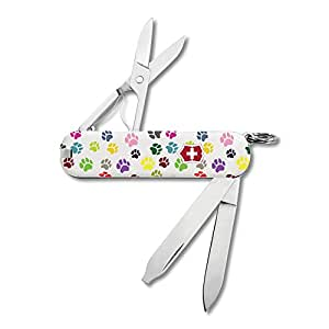 Amazon Com Victorinox Swiss Army Paw Print Classic Sd
