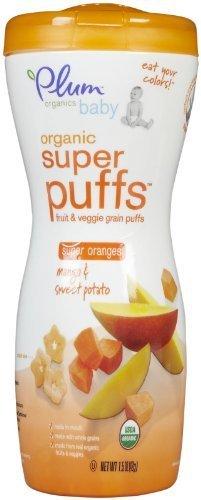 Plum Organics Super Puffs - Mango & Sweet Potato - 1.5 oz by Plum (Plum Potato)