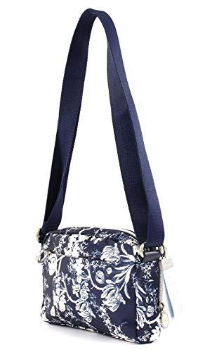 Shoppers dark Y Mujer Hombro Bolsos Shz Azul 1 Groovy Oilily De Shoulderbag blau Blue xIXf7z1
