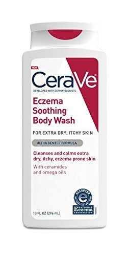 CeraVe Eczema Soothing Body Wash, 10 Fl Oz (Pack of 2)