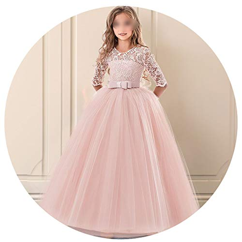 r Girls Clothes Flower Pageant Birthday Party Princess Clothes,As picture6,13 ()