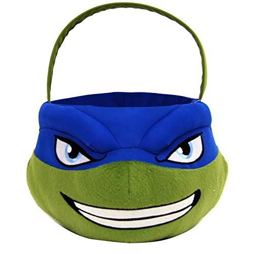 Teenage Mutant Ninja Turtles TMNT Leonardo Jumbo Plush Basket]()