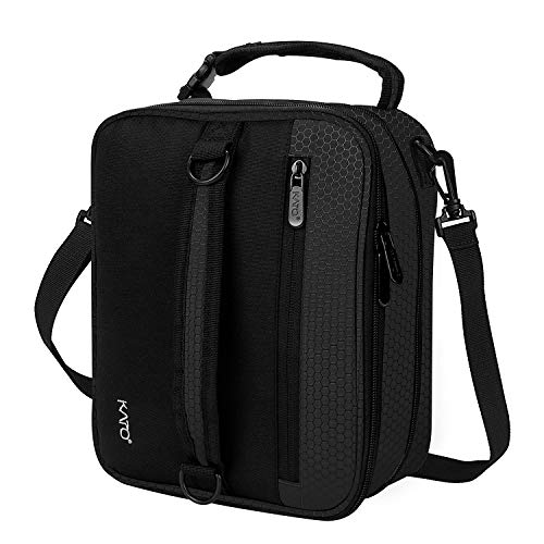 Kato Insulated Lunch Bag, Expandable Leakproof Flat Lunch Co