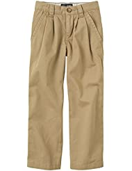 The Children's Place Boys' Basic Pleated Chino Pant