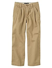The Children's Place boys His Pleated Chino Pants