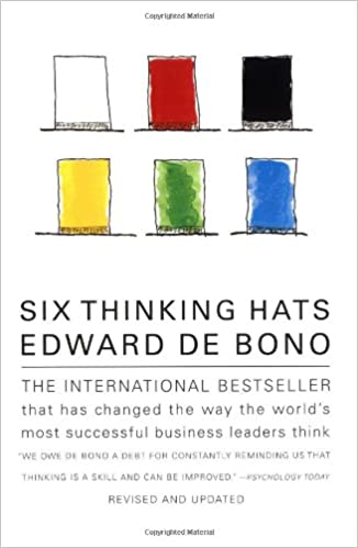 https://www.amazon.com/Six-Thinking-Hats-Edward-Bono/dp/0316178314
