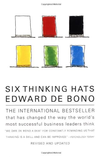 Six Thinking Hats: Edward de Bono: 9780316178310: Amazon.com: Books