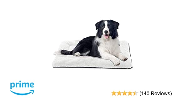 Bed 140 Breed.Invenho Dog Bed Mat Comfortable Soft Crate Pad Anti Slip Machine Washable Pad Dog Crate Pad Pet Bed For Large Dogs Cats
