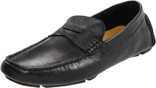 Cole Haan Men's Howland Penny Loafer, Black, 11.5 M US Calfskin Leather Mens Sneakers