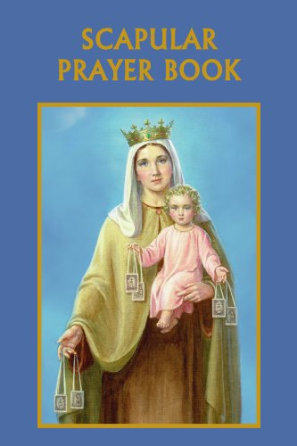 Prayer Scapular Brown - Scapular Prayer Book