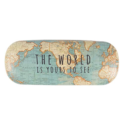 Sass and Belle Vintage MAP Glasses CASE (LOU005)