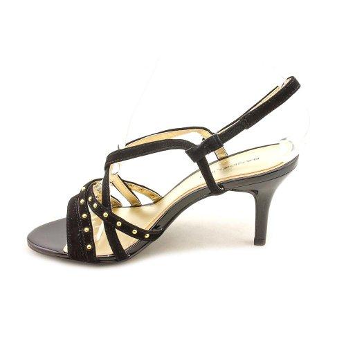 Womens Pump 7 US M Black Kipp Sandal Sandal Bandolino XtBvq