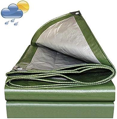 LSXIAO Lona Impermeable for Trabajo Pesado UV Estabilización de Metal al Aire Libre Ojal Pergola, 17 Tamaños (Color : Green, Size : 3X4m): Amazon.es: Hogar