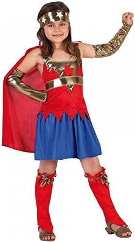 Disfraz – Super Heroína rojo: Amazon.es: Juguetes y juegos