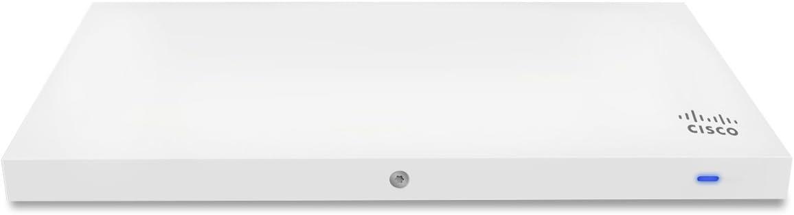 Cisco Meraki MR33 Quad-Radio 802.11ac Wave 2 Access Point, 1.3 Gbps, 802.3af PoE with 5 Years Enterprise License