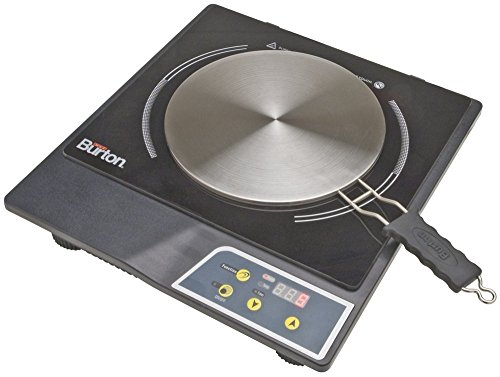 Max Burton 6015 Portable Induction Cooktop Stove and Interface Disk...