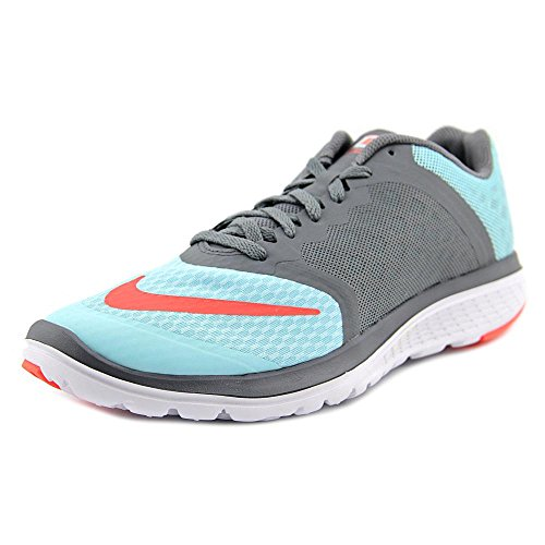 Nike Women's FS Lite Run 3 Running Shoe (8B(M) US, Copa/Hyper Orange/Cl Gry/White) ()