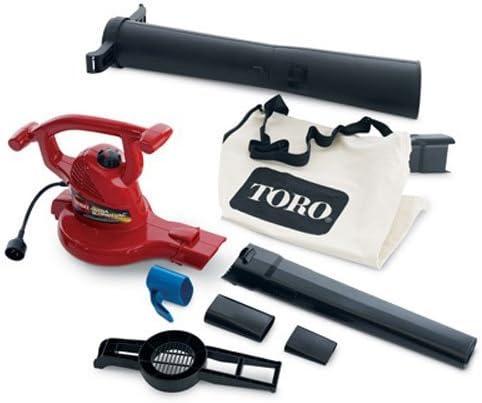 Toro 51619 Ultra Electric Blower Vac, 250 mph, Red Renewed